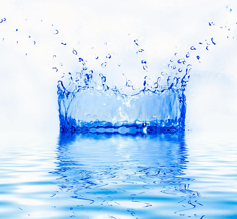 Download Fresh water splash stock image. Image of clear, drop - 26610277