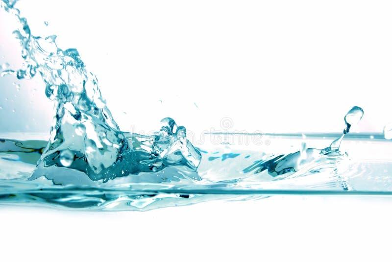 Fresh water splash stock image