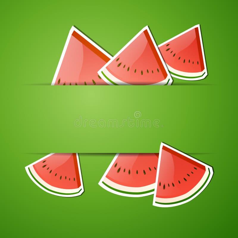 Fresh Watermelon Royalty Free Stock Photography