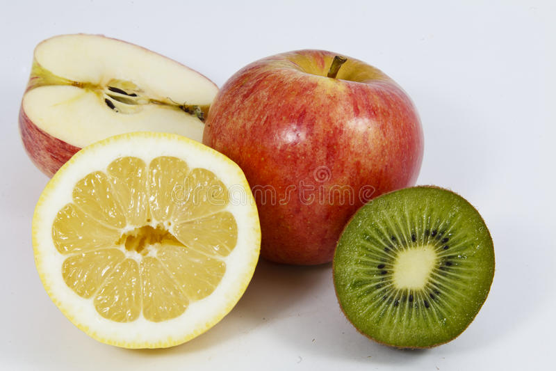 Download Fresh Whole And Sliced Fruit Stock Photo - Image: 19265402