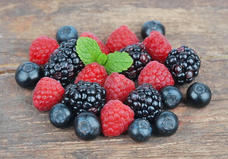 Fresh Wild Berries Royalty Free Stock Image