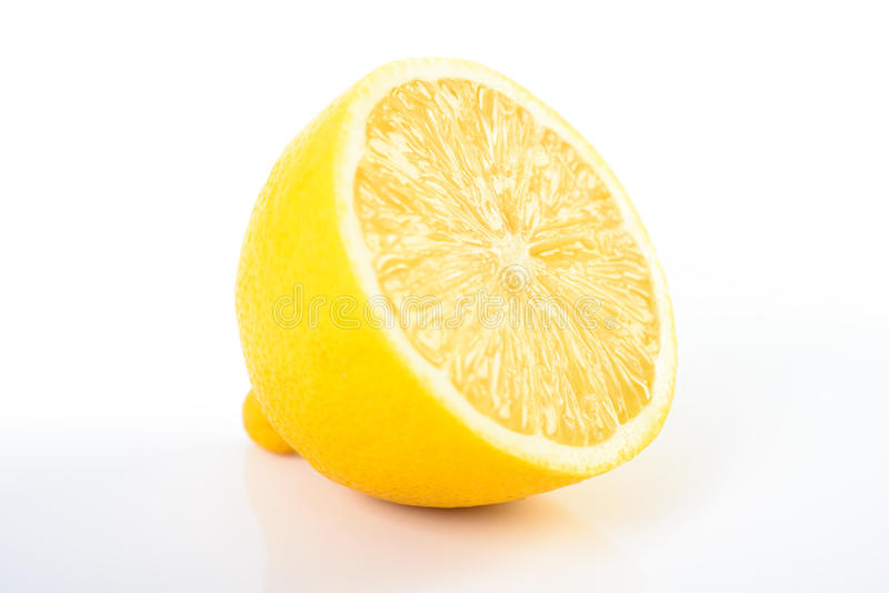 Fresh Yellow Lemon royalty free stock image