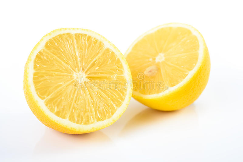 Fresh Yellow Lemons stock photography
