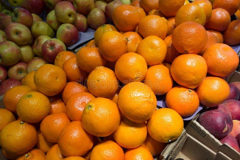 Fresh yellow orange royalty free stock photo