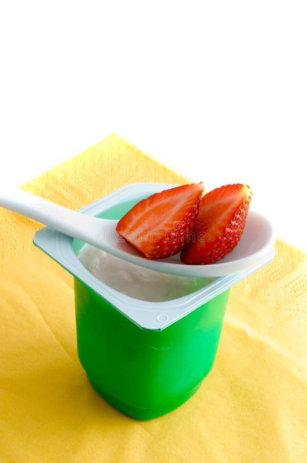 Download Fresh Yoghurt Stock Photos - Image: 7446703