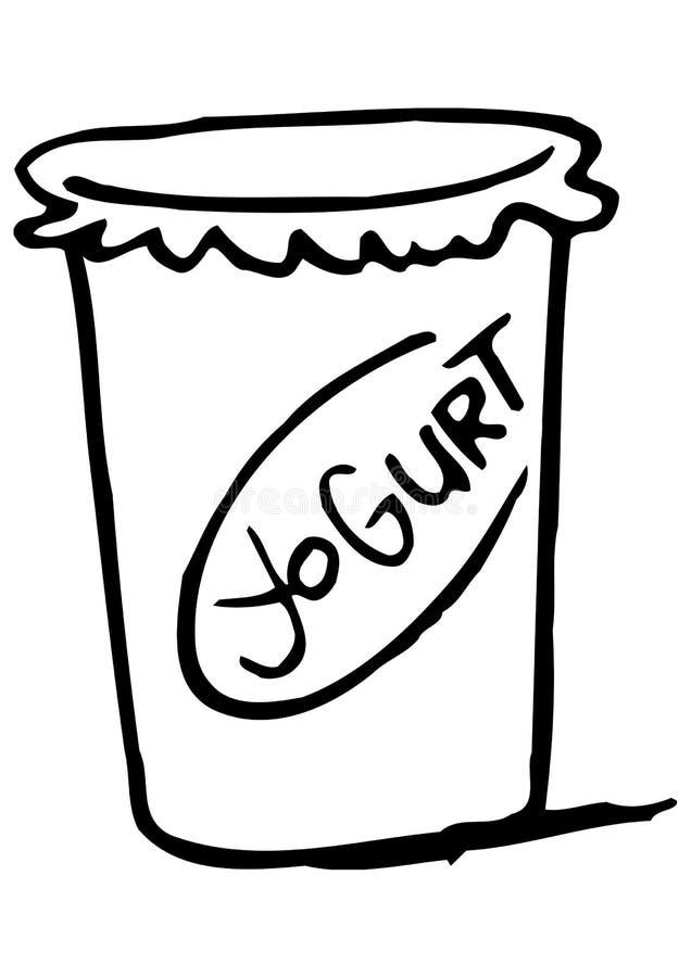 йогурт рисунки карандашом также замечает кучу