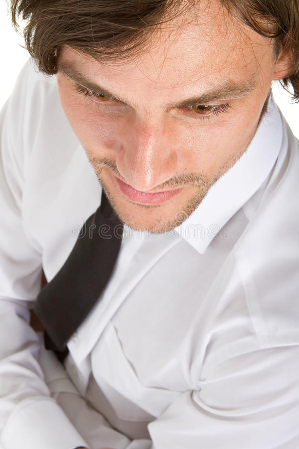 Download Fresh young businessman stock image. Image of hair, attractive - 15169821