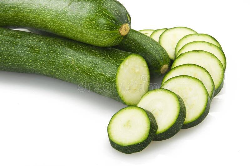 Fresh zucchini royalty free stock images