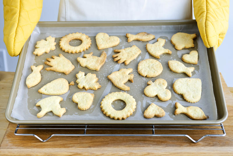 Download Freshly baked cookies stock image. Image of bakery, baking - 13196845