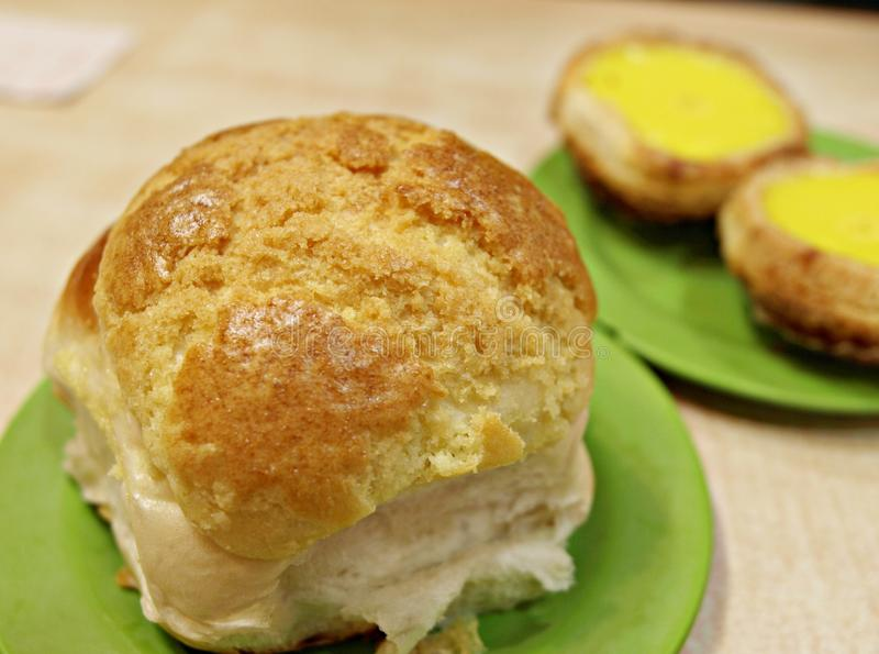 Download Freshly Baked Delicious Crispy Bun Stock Image - Image of bake, mouth: 18241033