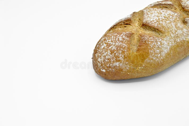 Freshly baked fresh and delicious traditional rye bread. royalty free stock photos