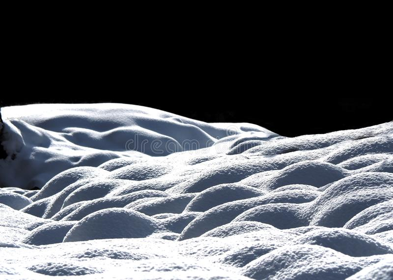Freshly Fallen Snow stock image