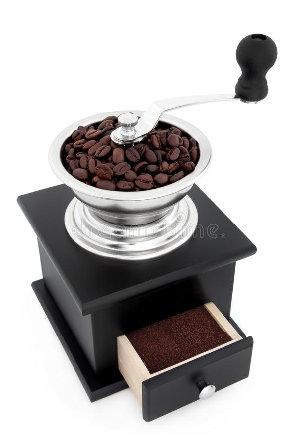 Freshly Ground Coffee Stock Image