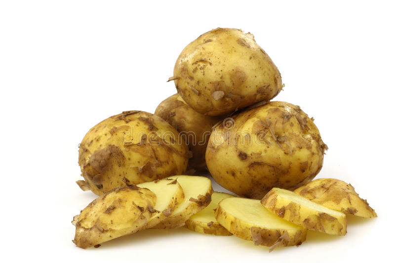 Download Freshly Harvested Dutch New Potatoes Royalty Free Stock Photos - Image: 15171758