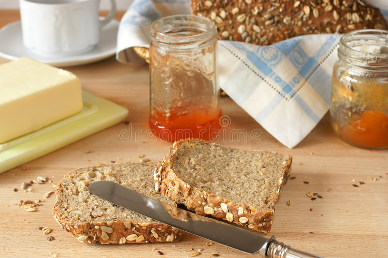 Download Freshly homemade bread stock photo. Image of crumbs, sweet - 8352370
