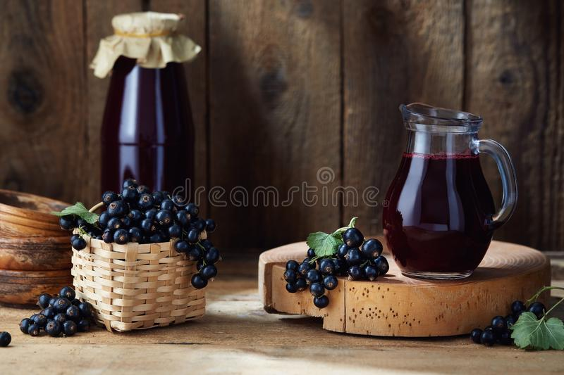Download Homemade Black Currant Juice Stock Photo - Image of diet, berry: 119985886