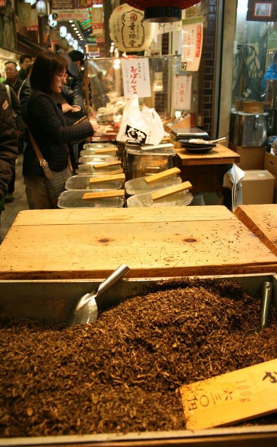 Freshly roasted tea stock photo