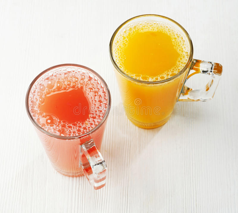 Freshly squeezed juice royalty free stock images