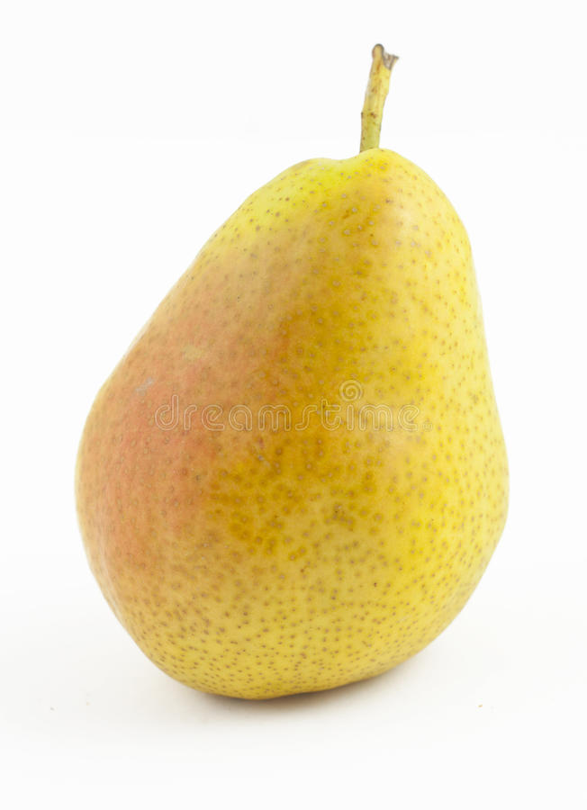 Download Freshness pear on white stock photo. Image of background - 15813074