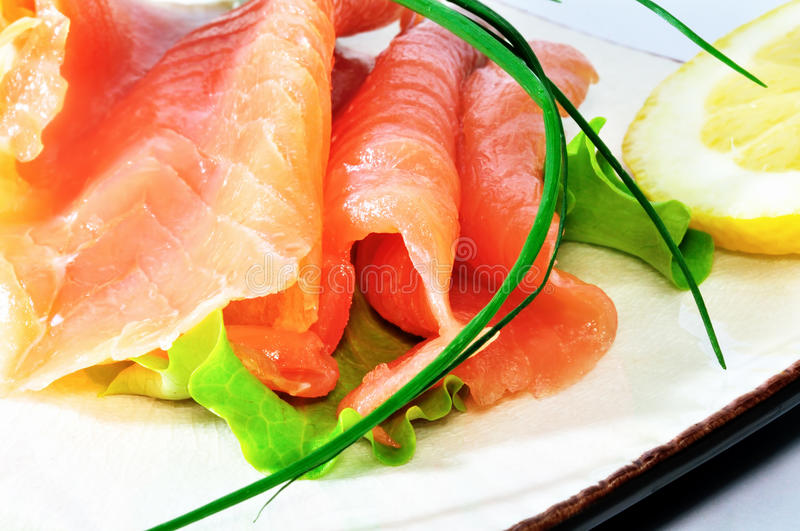 Download Freshness Salmon Salad Royalty Free Stock Image - Image: 23423796