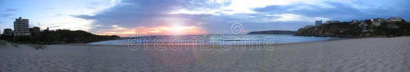 Freshwater beach at sunrise royalty free stock photo