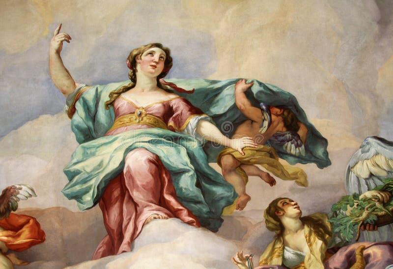 fresko royalty-vrije stock foto's
