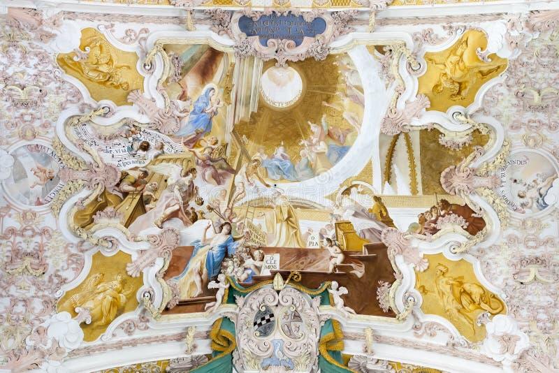Fresko Fürstenfeldbruck lizenzfreie stockfotos