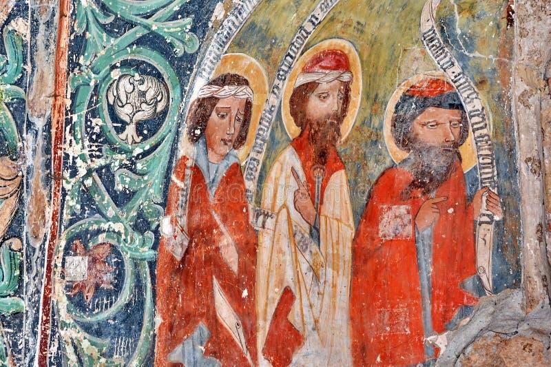 Fresko in Roemenië royalty-vrije stock foto