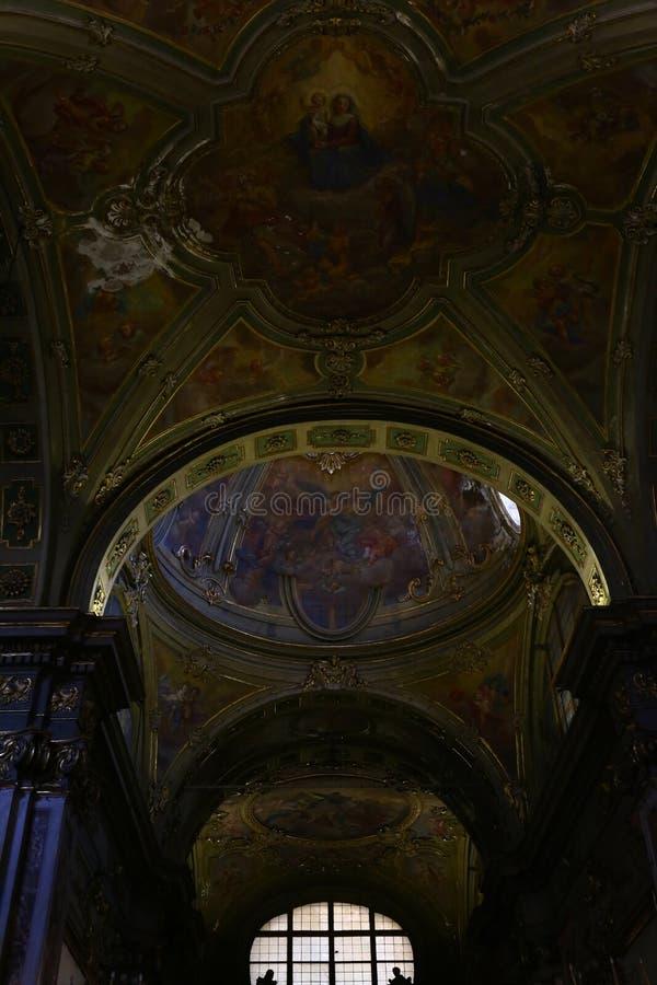 Freskomålningar royaltyfria foton