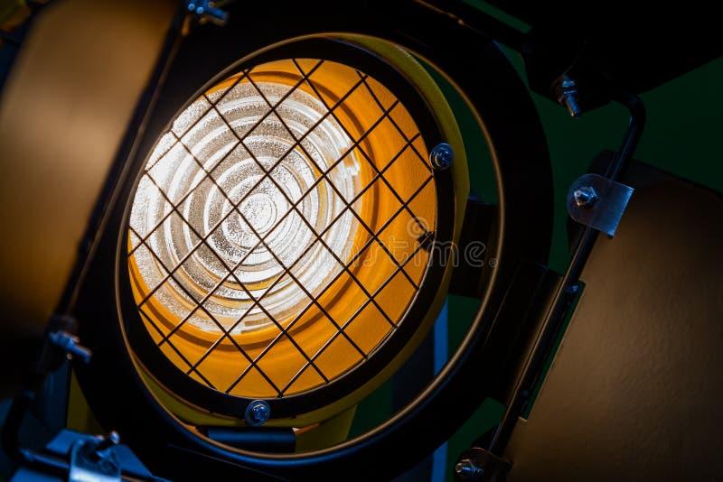 Fresnel Lens Barn Doors Protective Metal Mesh Stock Image Image