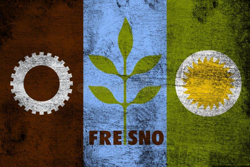 Fresno Califórnia ilustração stock