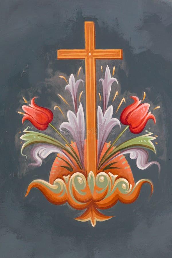 Fresques bizantins photos stock