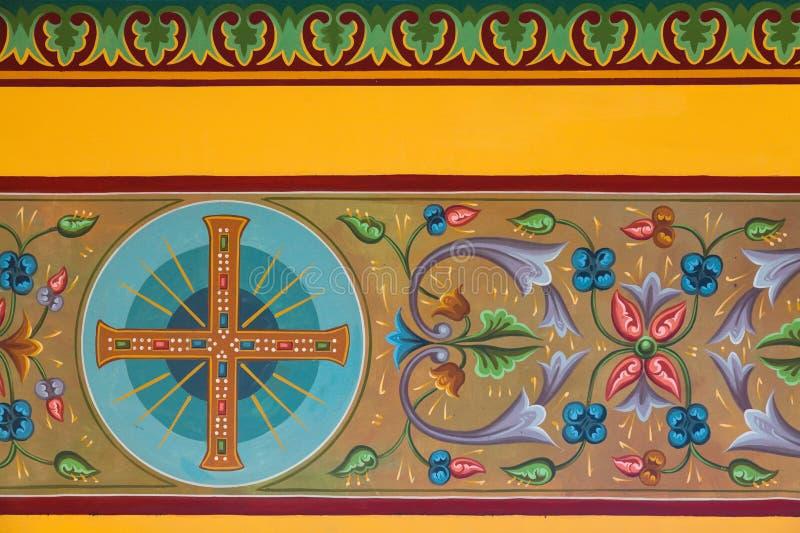Fresques bizantins photo libre de droits