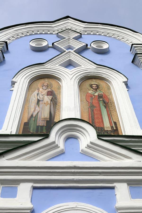 Fresques des saints sur le mur photos libres de droits
