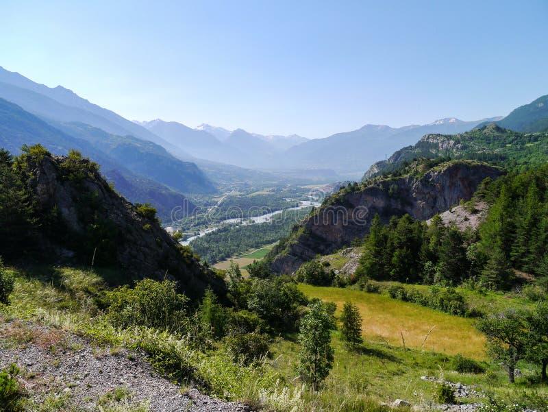 Fressinieres, Provence-Alpes-Cote d 'Azur, Francia foto de archivo libre de regalías