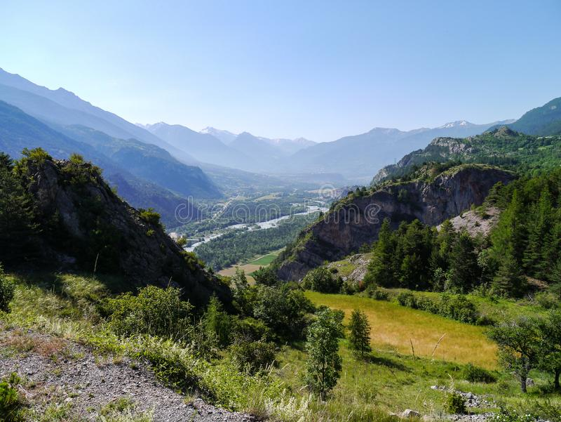 Fressinieres, Provence-Alpes-Taubenschlag d 'Azur, Frankreich lizenzfreies stockfoto