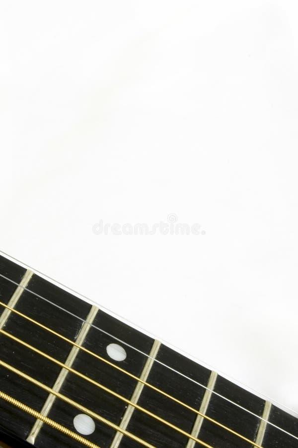 Fretboard photographie stock libre de droits