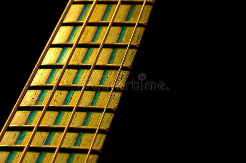 fretboard bass obrazy stock