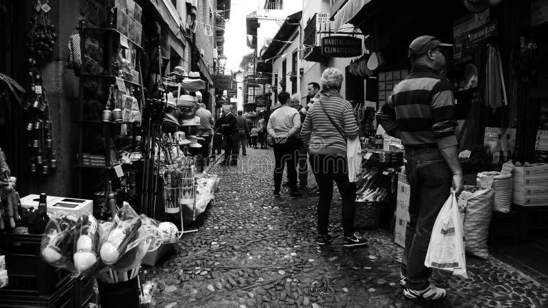 Fretta e trambusto fotografia stock