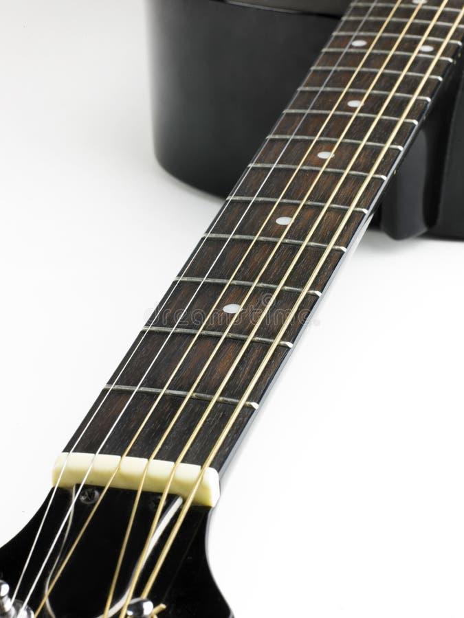 Frette de guitare photographie stock libre de droits
