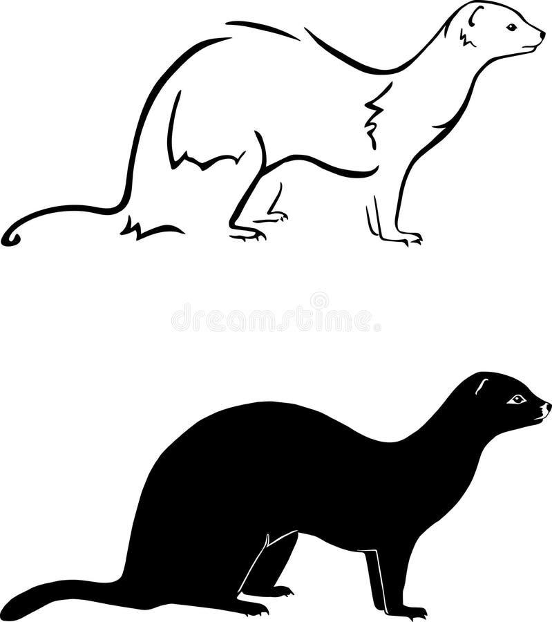 fretten vector illustratie