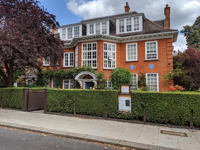 Freud& x27;s House, Hampstead, London, royalty free stock photos