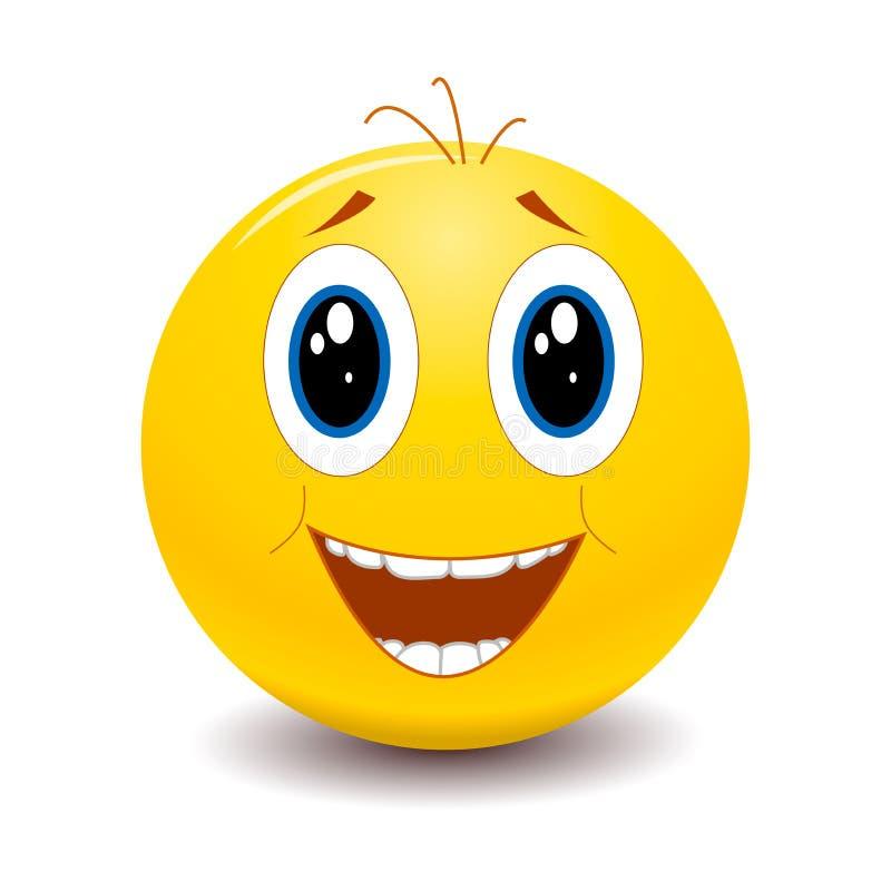 Smiley Freude
