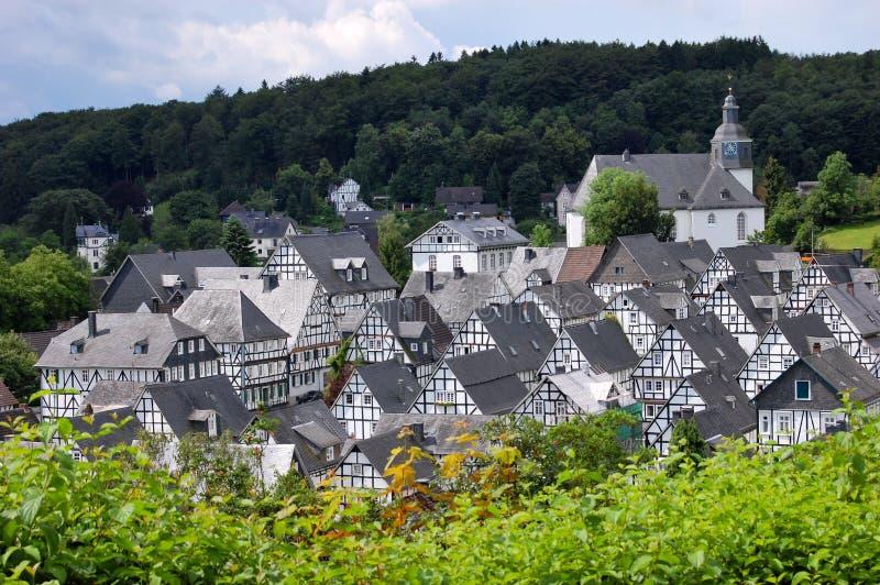Freudenberg, Deutschland lizenzfreie stockbilder