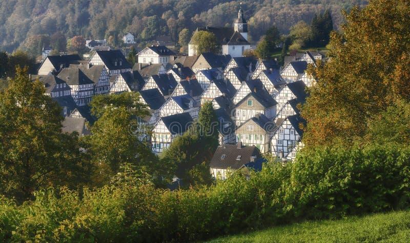 Freudenberg, Siegerland, Sauerland, Alemania imagen de archivo