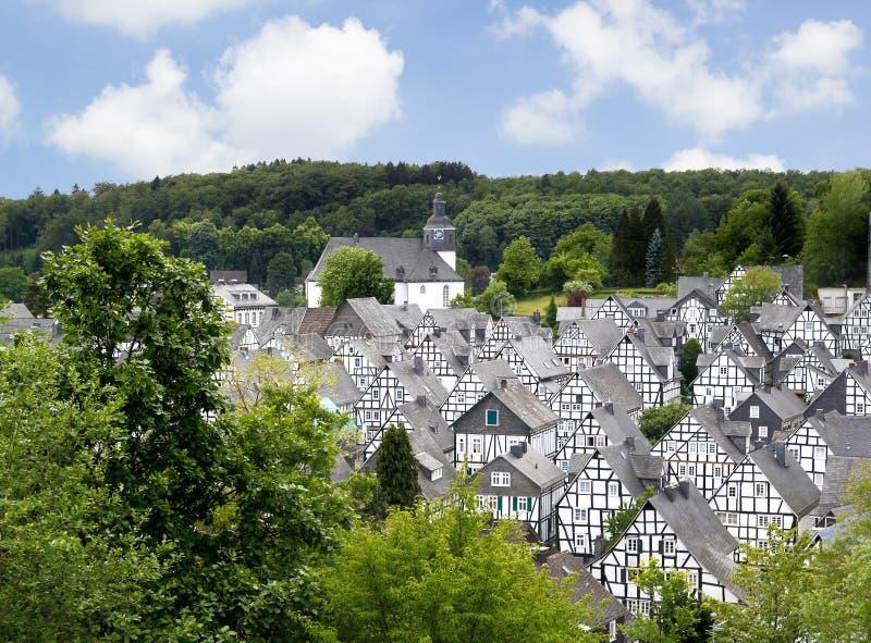 Freudenburg, Deutschland stockfotos
