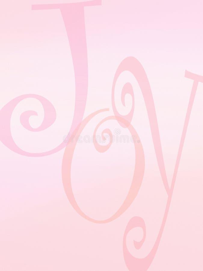 Freudenhintergrundzeichen vektor abbildung