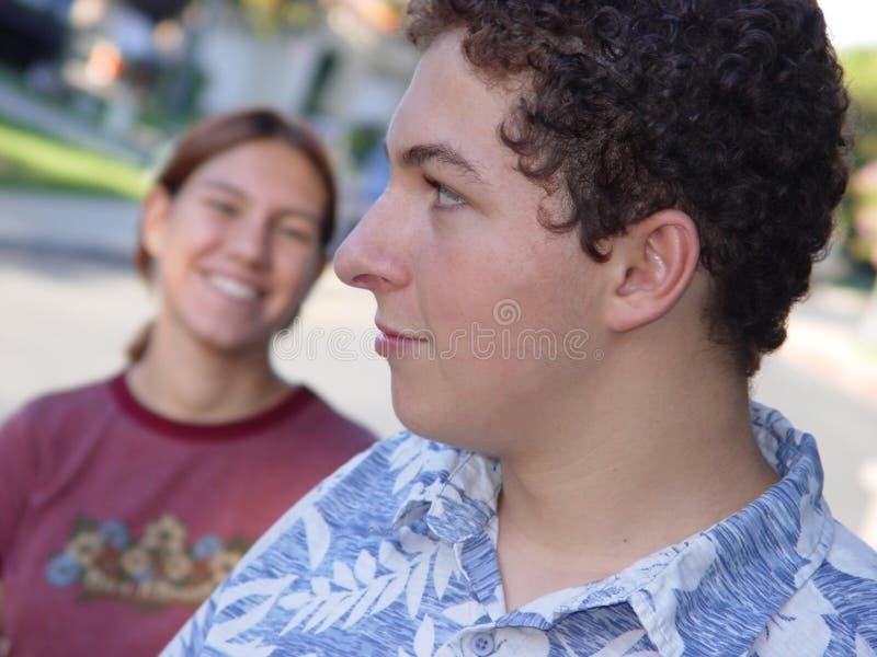 Freunde stockfotos