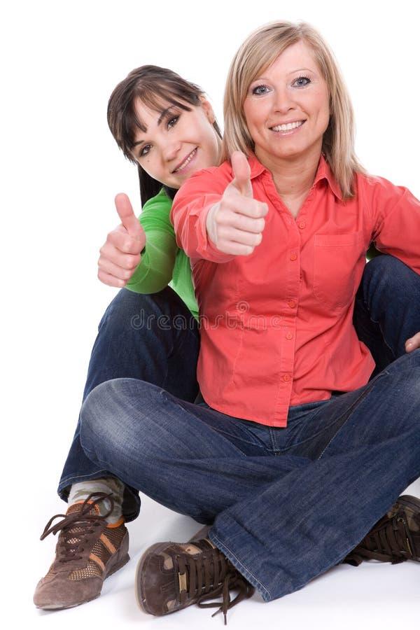 Download Freunde stockfoto. Bild von nett, blond, glück, dame, freundschaft - 9092962