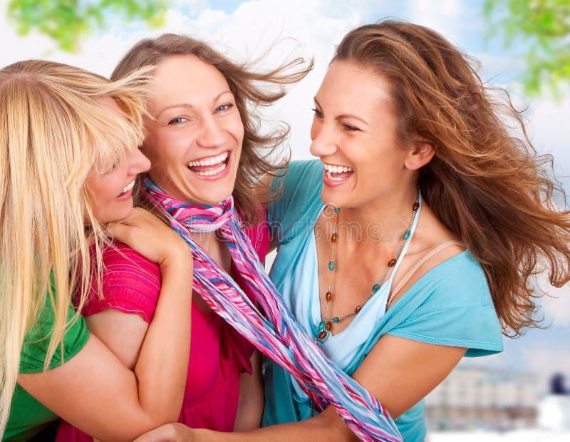Freundinnen 1 stockbilder